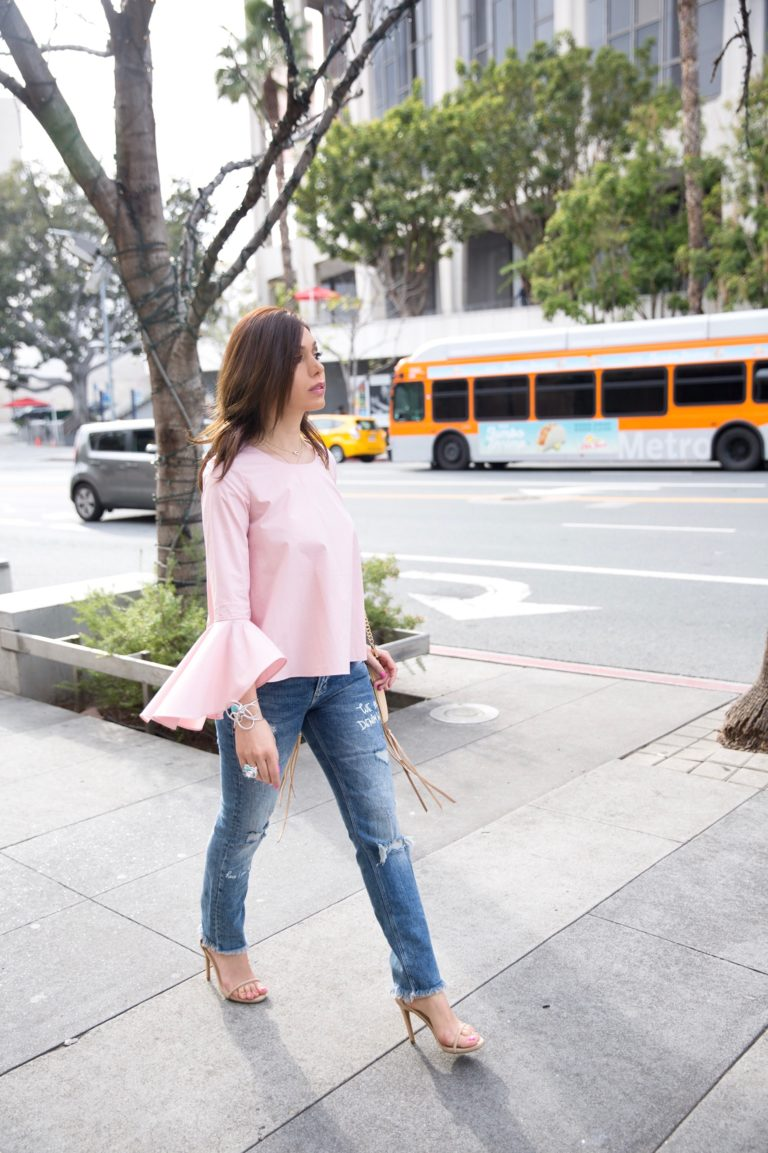 Staples for Spring: The Bell Sleeve Top