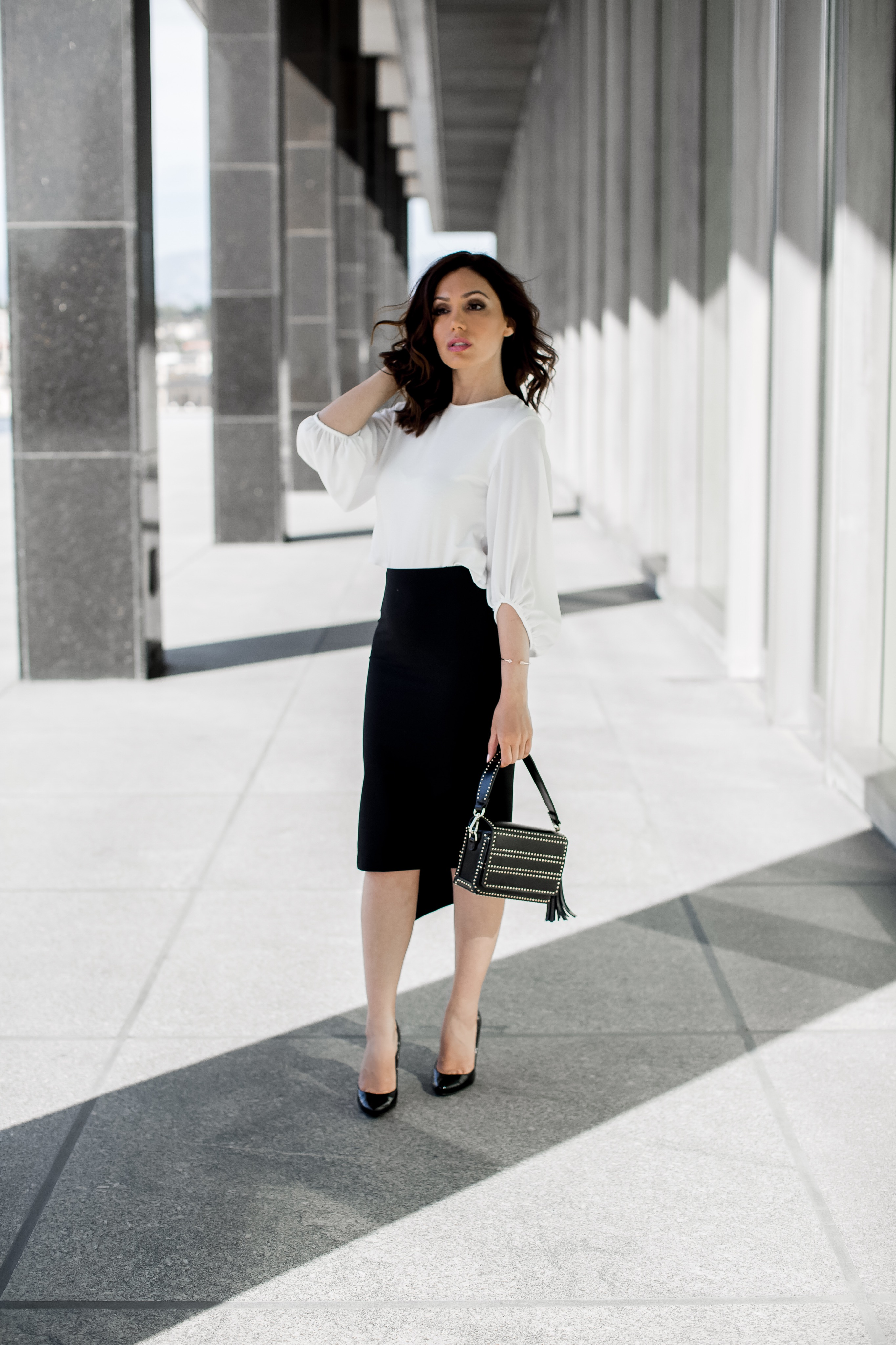 686950e668ae The Classic Pencil Skirt with a Modern Twist | Glam And Posh